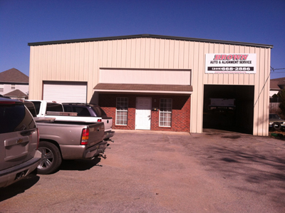 Brown Auto and Alignment Service shop